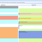 Amicron Mailoffice Kalender Tagesansicht